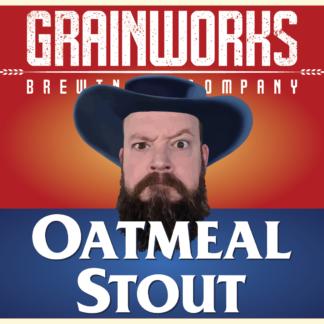 Grainworks Oatmeal Stout label