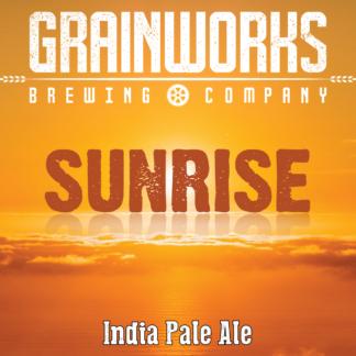 Grainworks Sunrise IPA label